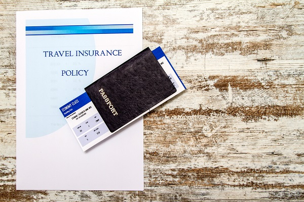 travel insurance, passport,