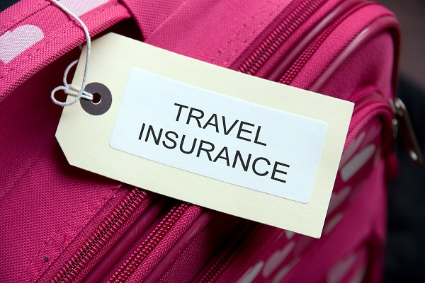 travel insurance, annual multi trip, suitcase, label