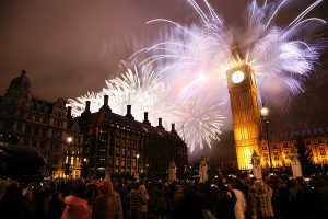 london, new years eve, London, fireworks