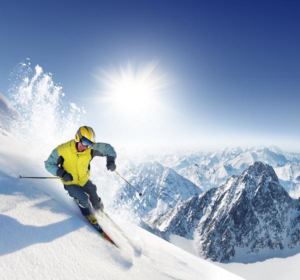 ski, skier, slope, snow, holiday, fit to ski