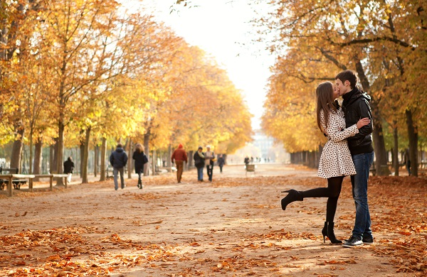 autumn, break, couple