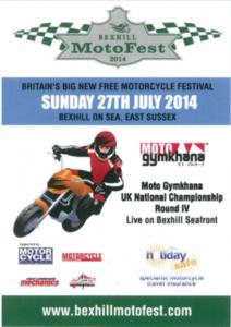 MotoFest Leaflet (Front)