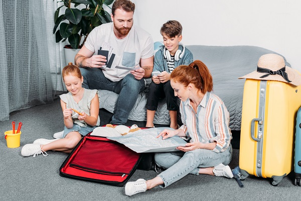 kids, planning, holiday, children, family
