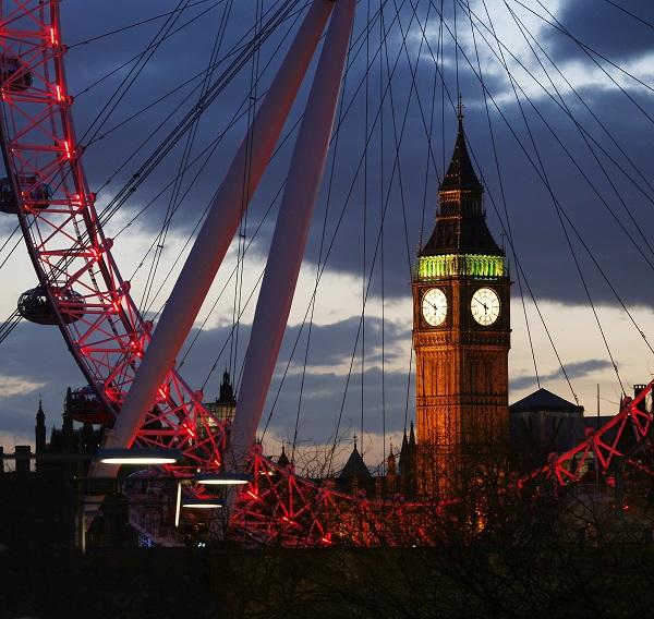 london, london eye, big ben