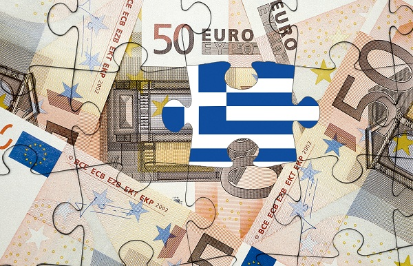 European financial crisis concept: Greece out of the eurozone