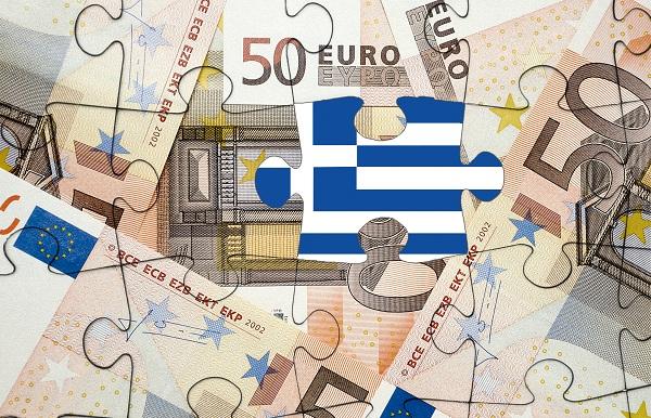 European financial crisis concept: Greece out of the eurozone