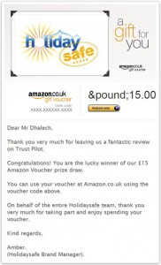 Amazon Voucher June
