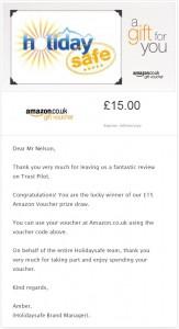 Amazon Voucher Oct