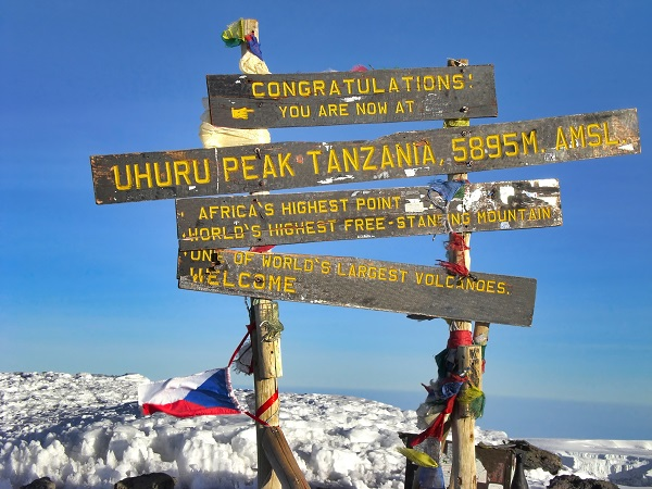 Mt. Kilimanjaro, the roof of Africa. Mt. Klilimanjaro, the highe