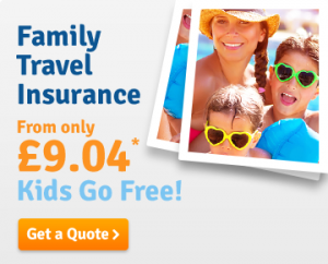 Get a family travel insurance quote