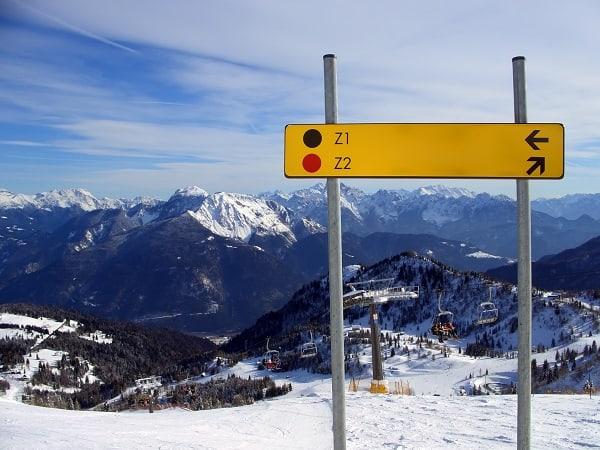 Ski winter sports