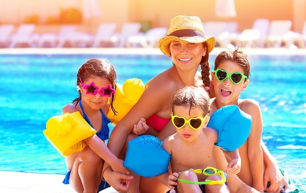 family holiday single parent