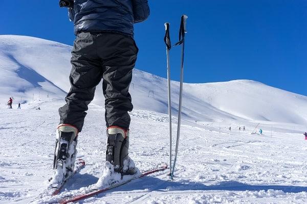 ski poles ski trip