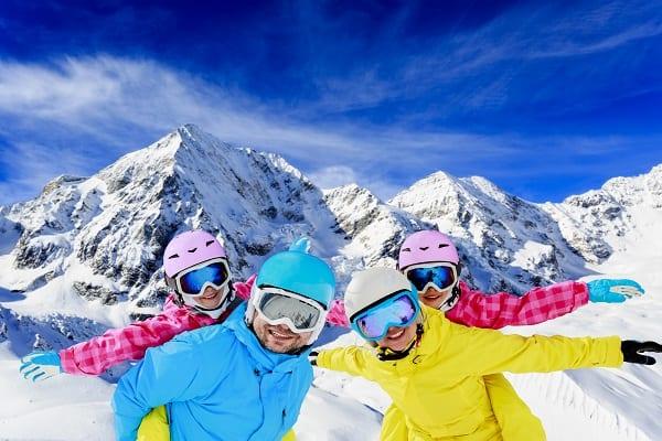 Winter-Ski-family