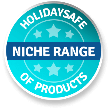 Holidaysafe Niche range of products