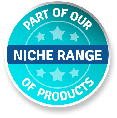Part of our Niche range of products