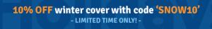 Holidaysafe promotional banner for winter travel