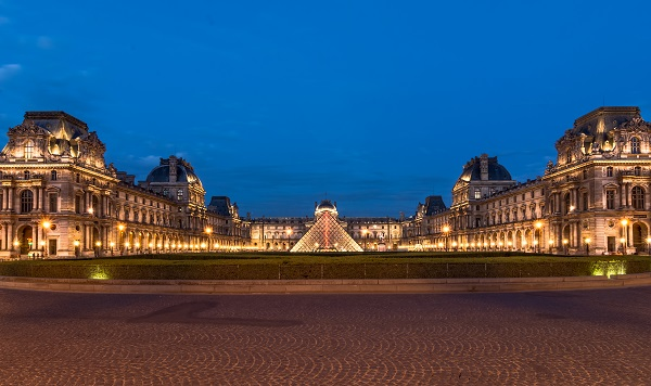 The Louvre - Paris landmark
