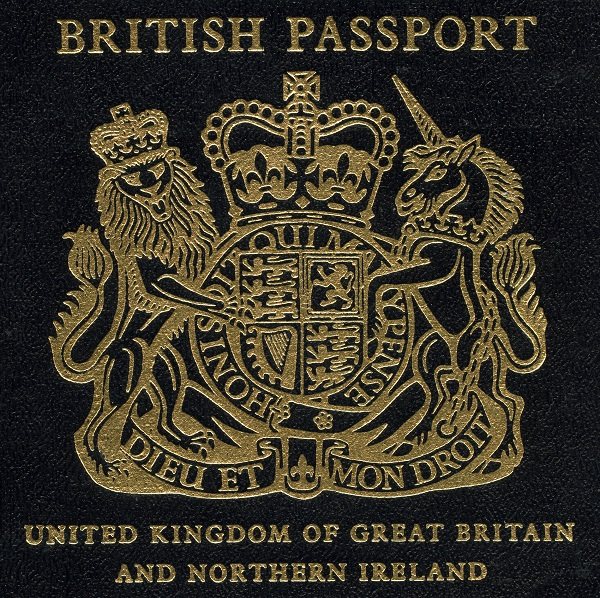 blue passport, passport, new, old, British, UK