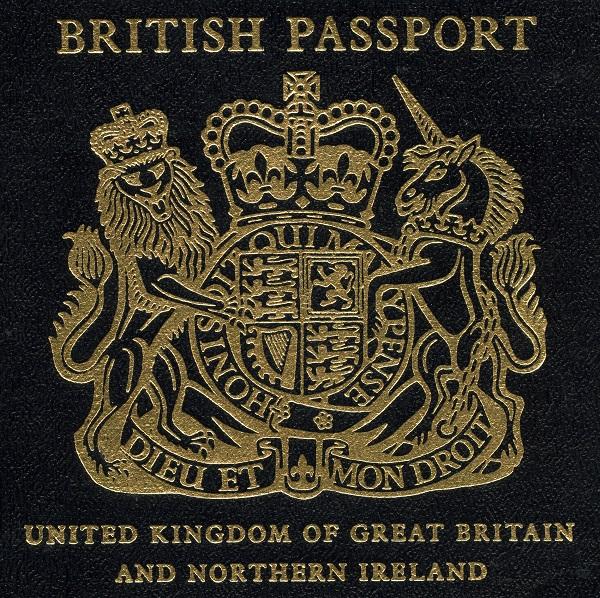 blue passport, passport, new, old, British, UK