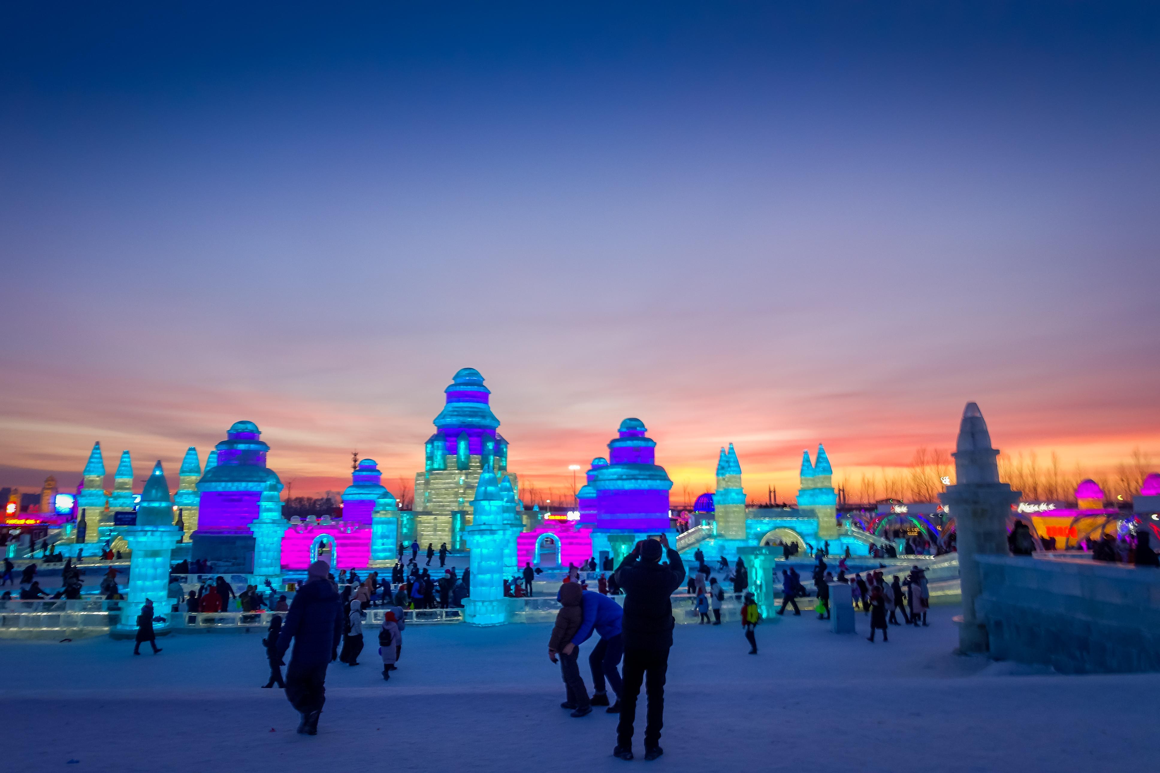 Ice Festival Harbin Holidaysafe