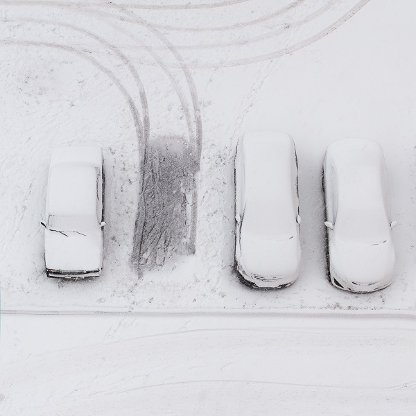 snow, cars, snowy