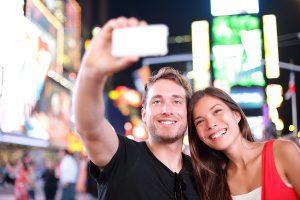 couple, selfie, picture