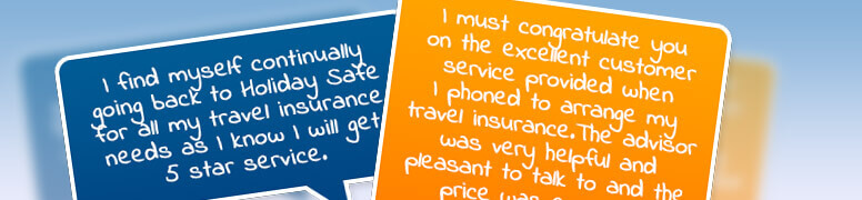 Customer Reviews Holidaysafe Travel Insurance