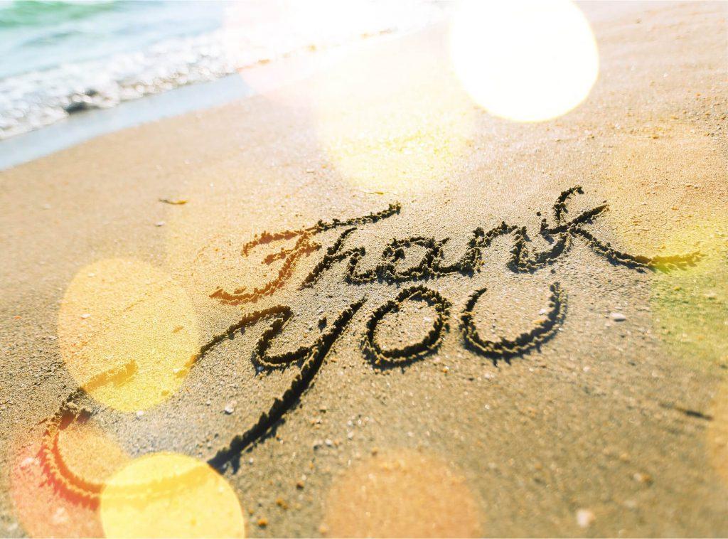 sandwiriting- thank you,