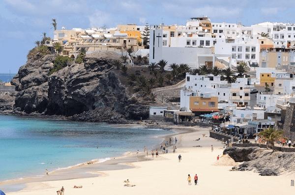 Fuerteventura in the Canary Islands